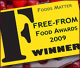 Free From Food Awards winners logo