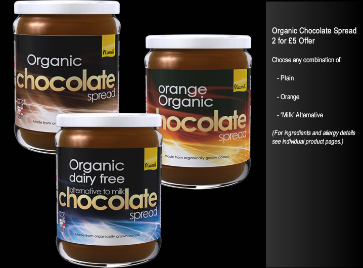 Chocolate Spreads 2 for £5 Offer - Click Image to Close