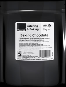 'Free From' Baking Chocolate Catering Drops