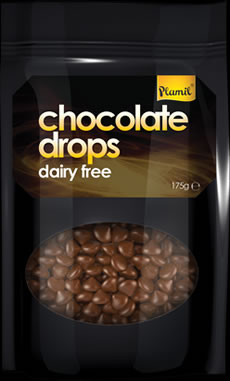 Dairy Free Chocolate Drops