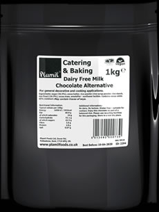 Dairy Free Milk Chocolate Alternative Catering Drops