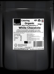 Organic Alternative To White Chocolate Catering Drops