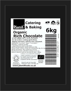 Organic Rich Chocolate Catering Pack Large