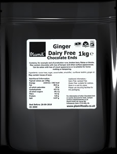 Ginger Dairy Free Chocolate Ends