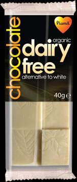 Organic Dairy Free White Chocolate Snack Bar