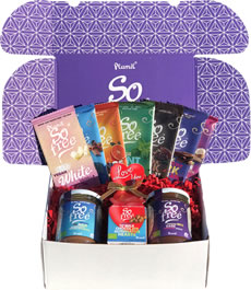 Plamil So free Love Hamper with Chocolate Spreads