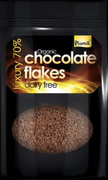 Organic Luxury 70% Dairy Free Hot Chocolate Flakes