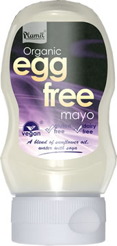 Organic Plain Egg Free Mayonnaise Squeezy Bottle