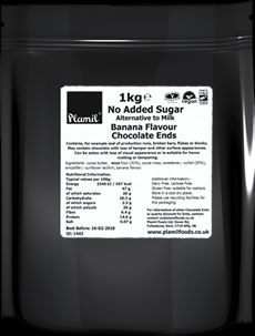 No Added Sugar Alt. to Milk Banana Flavour Chocolate Ends