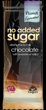 No Added Sugar Alt. to Milk Chocolate Expressions Snack Bar