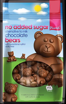 No Added Sugar Alternative to Milk Chocolate Bears