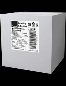 No Added Sugar Chocolate Catering Pack Large 72% Cocoa