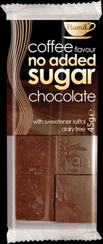 No Added Sugar Chocolate Coffee 45g - Case of 24