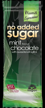 No Added Sugar Chocolate Expressions Mint Snack Bar