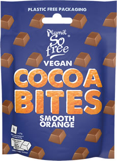 Plamil So free Vegan Smooth Orange Cocoabites