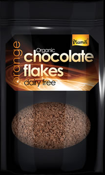Organic Orange Dairy Free Hot Chocolate Flakes