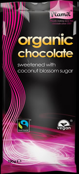 Organic Coconut Blossom Chocolate 100g - Case of 12