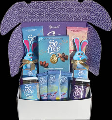 Organic Easter Hamper with Milky Egg