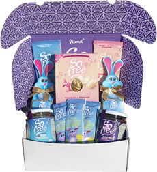 Organic Easter Hamper with White Egg