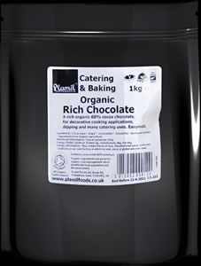 Organic Rich Chocolate Catering Drops