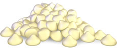 Organic White Chocolate Alternative Catering Drops 7.5kg