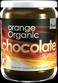 Organic Orange Chocolate Spread