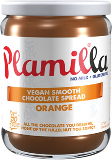 Plamilla Orange Vegan Chocolate Spread