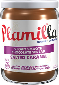Plamilla Salted Caramel Vegan Chocolate Spread