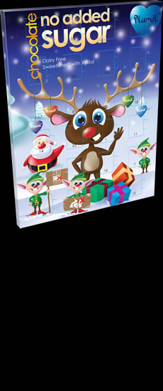 No Added Sugar Chocolate Advent Calendar