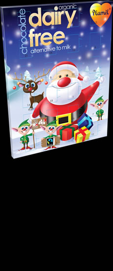 Organic Fairtrade Milky Dairy Free Advent Calendar