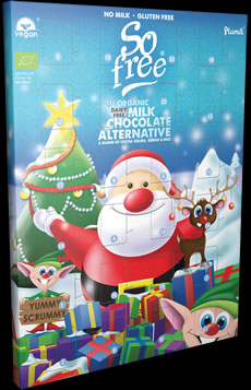 So free Organic Advent Calendar