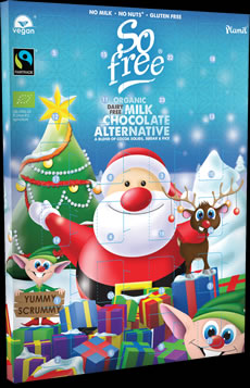 So free Organic Fairtrade Advent Calendar