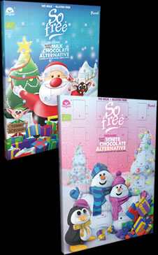 2 So free Advent Calendars for £6 Offer