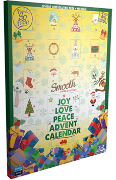 Plamil So free Smooth Less Than 4% Sugar Advent Calendar