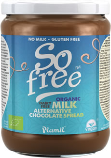 Plamil So free Organic Milk Alternative Chocolate Spread