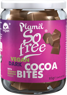 Plamil So free Vegan Dark Cocoabites