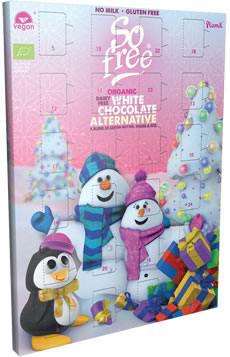 Plamil So free White Chocolate Alternative Advent Calendar