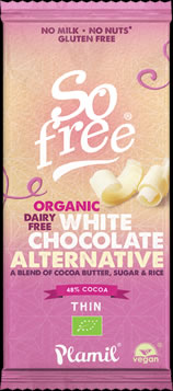 So free White Chocolate Alternative