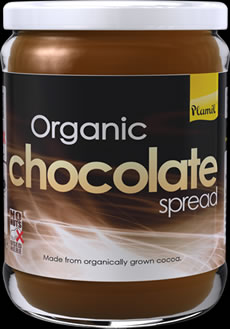 Organic Chocolate Spread 275g - Case of 6 BB 03/05/18