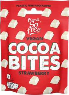 Plamil So free Vegan Strawberry Cocoabites