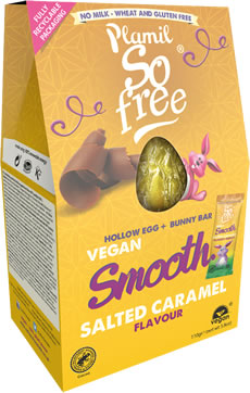 Plamil So free Salted Caramel Vegan Easter Egg