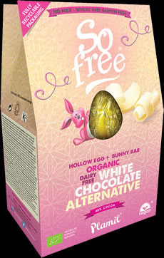 So free White Chocolate Alternative Easter Egg