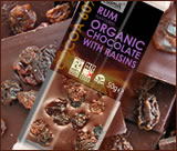 Rum & Raisin luxury organic chocolate